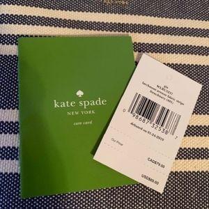NWT Kate Spade wristlet!